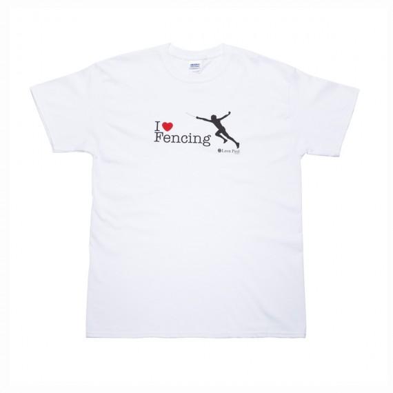 Футболка I Love Fencing